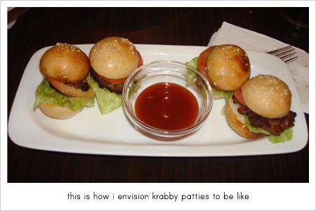 krabby patty doppelgänger